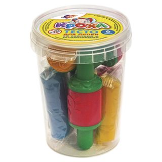 The plasticine plant-based (modeling dough) BEAM, 6 wheel drive, 420g, stamps 3 pieces, rolling pin