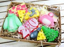 Large Christmas set handmade soap Mouse-Rat