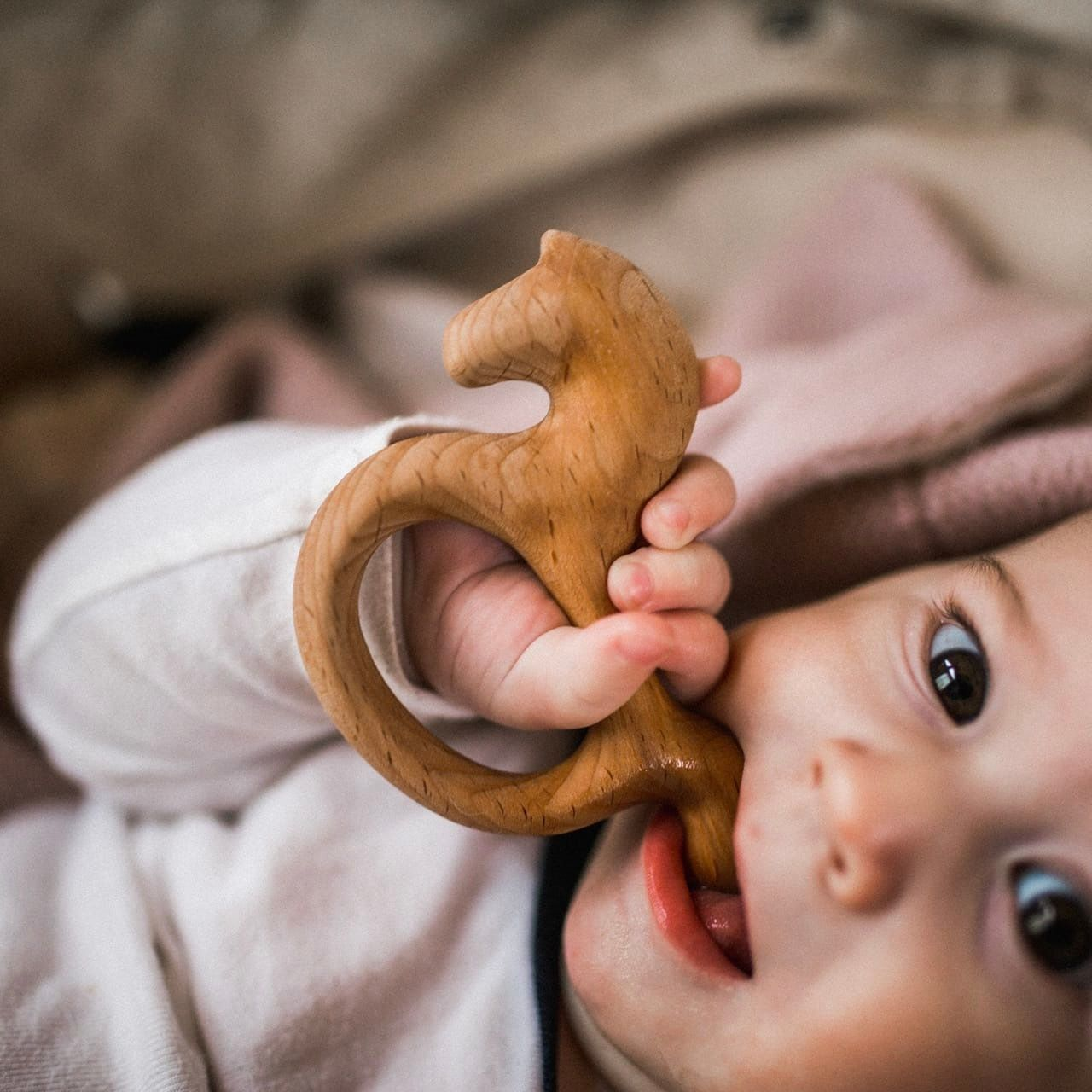 "Wooden teething toy ""Konik"""