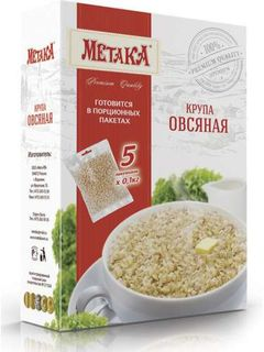 Oat groats - Premium Metaka cereals in cooking bags
