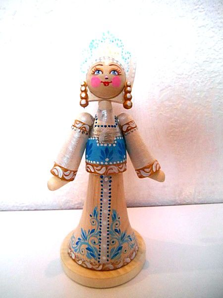 "Tver souvenirs / Doll Princess Swan ""Snow Maiden"""