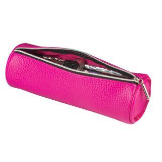 Pencil case-cosmetic bag BRAUBERG under textured skin, Exotic, pink, 20х6х6 cm