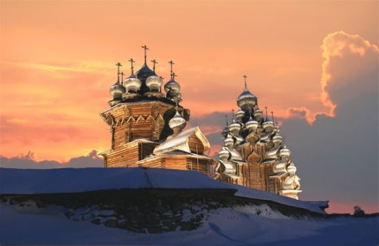 Kizhi, the museum-preserve of wooden architecture - a UNESCO World Cultural and Natural Heritage Site