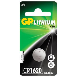 GP / Battery Lithium, CR1620, lithium in blister, 1 pc.