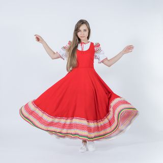 "Sundress Russian folk ""Festive"""