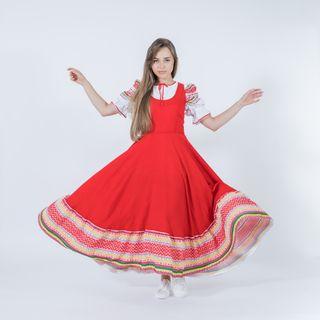 Sundress Russian folk