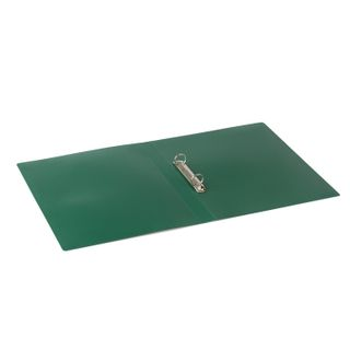 Folder on the 2 rings STAFF, 21mm, green, up to 170 sheets, 0.5 mm