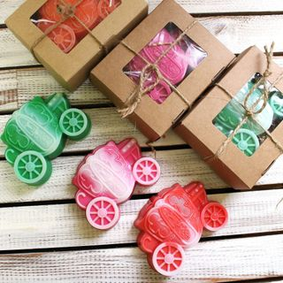Handmade soap Carriage - mix of colors