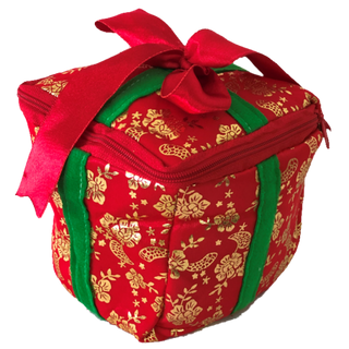 """New Year's gift """"Box with a bow"""", a set of sweets 450g."""