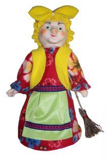 Baba Yaga is a colorful Christmas toy.