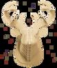 3D figure – Head of red deer KVK Brown - view 3