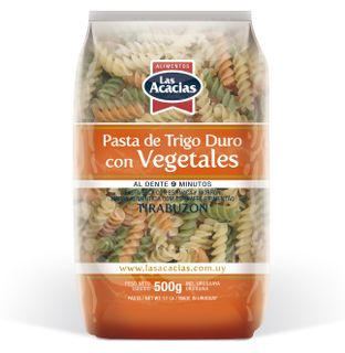 Macaroni products from durum wheat, with spinach and pepper