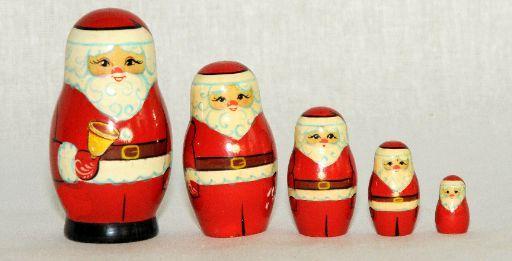 "Vyatka souvenir / Painted ""Santa Claus"", 5 ave."