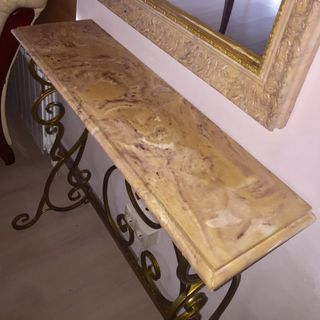 Console from Arbet marble