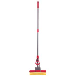 LIME / Self-wringing mop, roller double wringing, 27 cm PVA nozzle, 125 cm telescopic handle