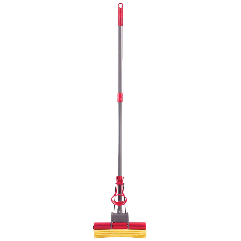 LIME / Self-wringing mop, roller double wringing, 27 cm PVA nozzle, 125 cm telescopic handle