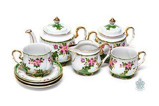 "Manufactory Gardner / Tea set ""Tenderness"""