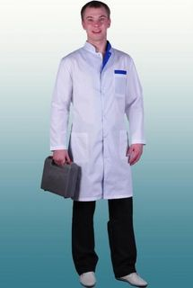 "Dressing gown medical ""DOCTOR"""