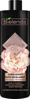 Exclusive micellar water cleanser and make-up, BIELENDA CAMELLIA OIL, 500ml