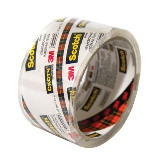 Packaging adhesive tape, 48 mm х 35 m, CRYSTAL, ECONOMY, thickness 40 microns, SCOTCH