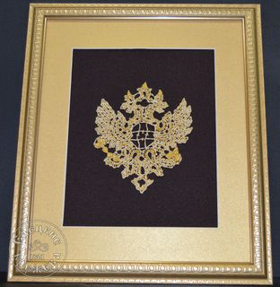 "Panels decorative lace ""double-Headed eagle"""