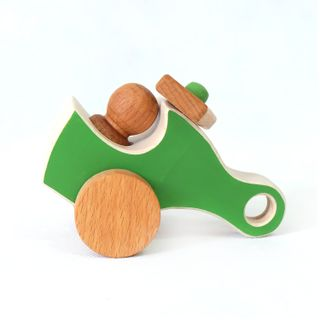 Helicopter - developing children's transport wooden toy