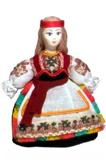 Doll gift. Finca (small version No. 1014).