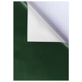 The notebook is a B4, 96 sheets, staples, offset No2 ECONOM, cage, HATBER, GREEN