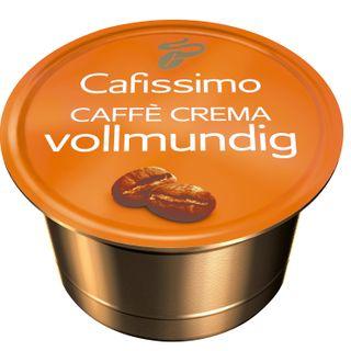 TCHIBO / Capsules for coffee machines Cafissimo Caffe Crema Vollmundig, natural coffee, 10 pcs. x 8 g