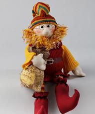 Textile souvenirs, toys, designer objects of linen and cotton