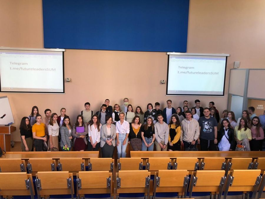 Anna Nesterova gave a lecture on digital entrepreneurship at the State University of Management