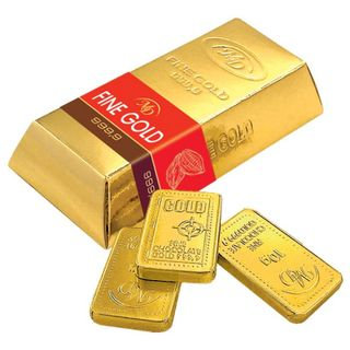 "Set of chocolate bar ""Gold standard"" 60 g"