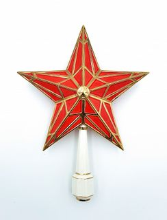 """Christmas tree toy """"the Steeple-star"""" small"""