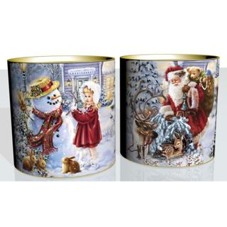 """New Year's gift Tuba """"Good Santa"""", a set of sweets 450g."""