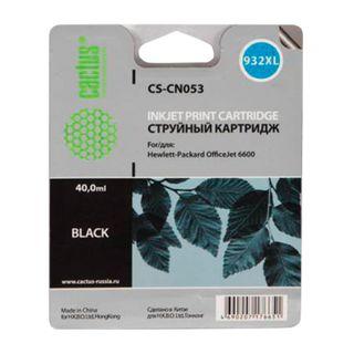 Inkjet ink cartridge CACTUS (CS-CN053) for HP OfficeJet 6100/6600/6700, Black, 40 ml