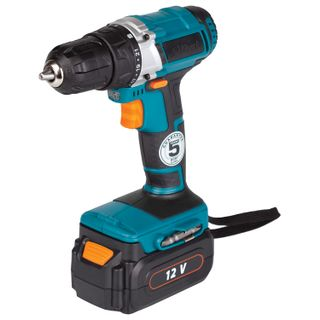 Drill screwdriver battery, 12 B, Ni-Cd, 600 rpm, BORT BAB-12-P