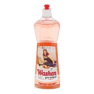Washen for cleaning carpets and upholstered furniture 1 liter.