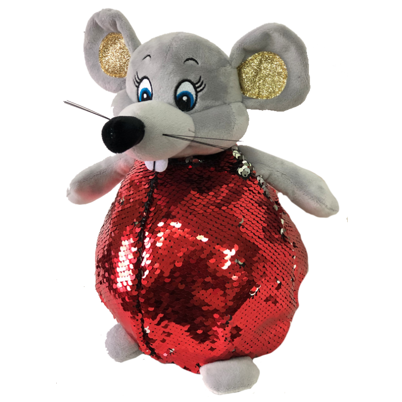 """New Year's gift Mouse """"Barberry"""" + set of sweets 900g."""