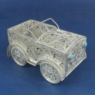 "Kazakov Filigree / Souvenir ""Auto"" silvering"