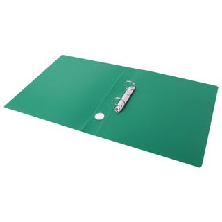 Folder on the 2 rings STAFF, 40 mm, green, up to 300 sheets, 0.5 mm