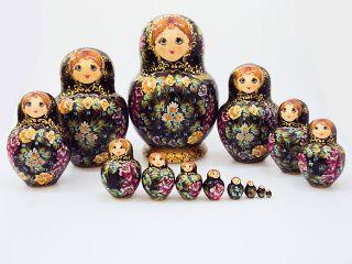 Matryoshka 15 seats, Tray - a souvenir