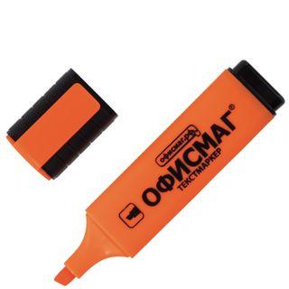 Highlighter FISMA, ORANGE, line 1-5 mm