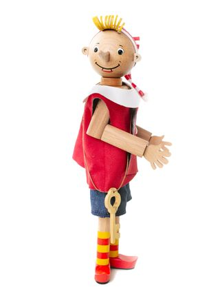 "BOCHART / Wooden toy ""Buratino"" (beech)"