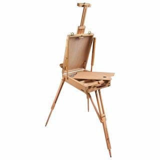 Sketchbook BRAUBERG ART CLASSIC, beech, 50х34х11 cm canvas height: 87 cm, wooden legs 90 cm, belt
