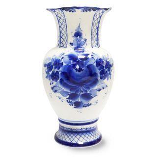 Flower vase Idyll 2nd grade, Gzhel Porcelain factory