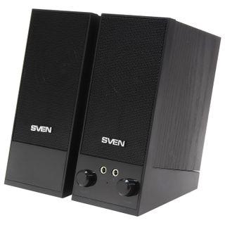 SVEN / Computer speakers SPS-604, 2.0, 2x2 W, wood, black