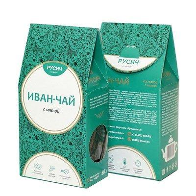 "Ivan-tea ""RUSICH"", leaf mint, 50 g"