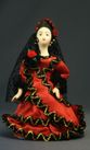 Doll gift porcelain. Spanish summer in a national dress. - view 1