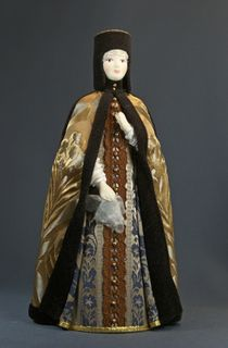 "Doll gift. ""Riding"" the costume of the Queen. The middle of the 17th century - Moscow."