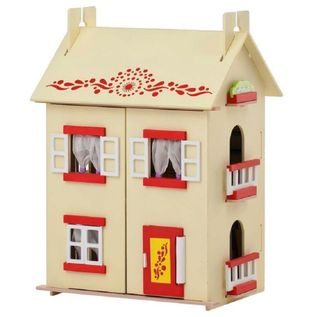 Dollhouse wooden house